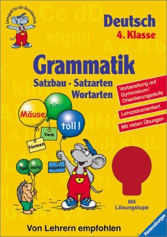 Grammatik (4. Klasse): Satzbau, Satzarten, Wortarten (Lernspaß für die Grundschule)