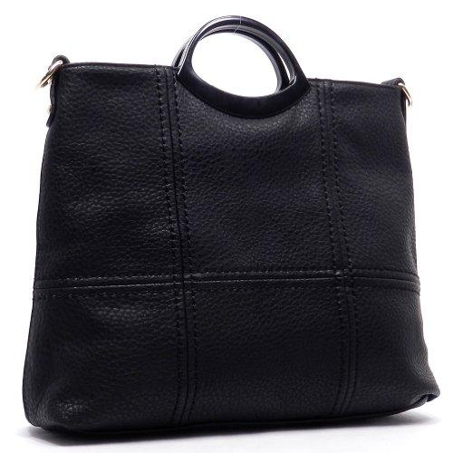 K61102L MyLux® Fashion Women/Girl Shoulder tote Bag black