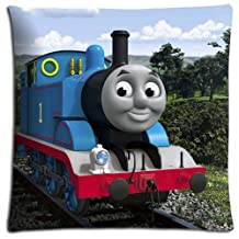 Perfect Body pillow Shell Cases Cotton Polyester Pillow Cover Zippered Thomas the Tank Engine & Friends 18x18 inch 45x45 cm