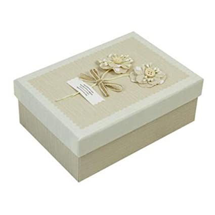 Kylin Express Creative decorativo caja de regalo regalo cuadrado favor cajas regalo comida, caqui flores