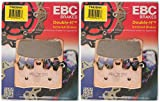 EBC Double-H Sintered Metal Brake Pads FA630HH (2 Packs - Enough for 2 Rotors)