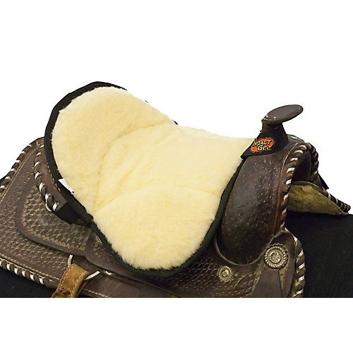 Impact Gel Western Saddle Pad - Impact Gel Saddle Seat Cushion