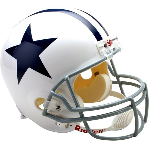 Riddell Dallas Cowboys Deluxe Replica Throwback Helmet: 1960-1963 Full Size ()