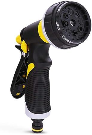 LKWYY Boquilla de la manguera Jardín Pistola de alta presión Pistola para aspersión Antideslizante para lavar/regar automóviles y mascotas Limpieza de césped y jardín/acera: Amazon.es: Bricolaje y herramientas