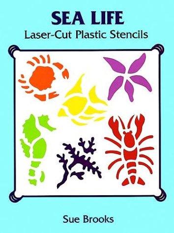 Sea Life Laser-Cut Plastic Stencils (Laser-Cut -