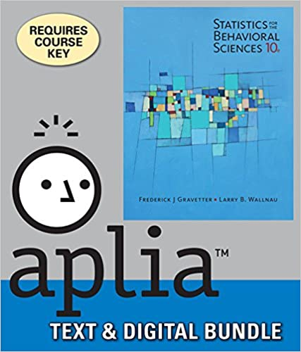 Amazon bundle statistics for the behavioral sciences loose bundle statistics for the behavioral sciences loose leaf version 10th aplia 1 term printed access card 10th edition by frederick j gravetter fandeluxe Image collections