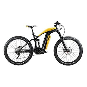 """BESV Trb1 28MPH Am l 490 MTB Electric Bicycle, Yellow, 19""""/Large"""