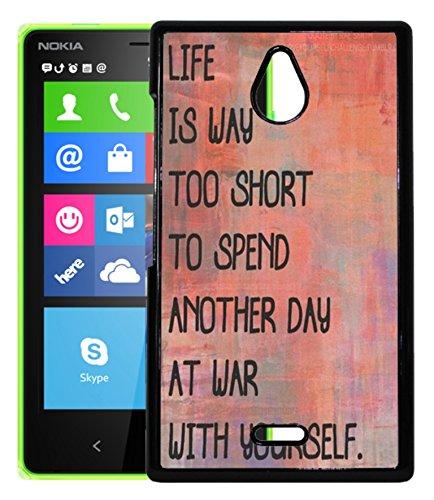 FCS Printed 2D Designer Hard Back Case For Nokia X2 Design-50070