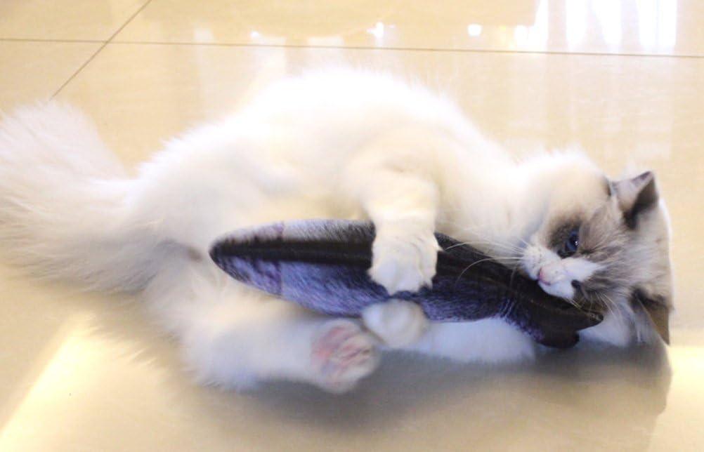 20, Mackerel Cat Toys Catnip Toy Fish Realistic Simulation Cat Mint Toys Cat Plush Toy