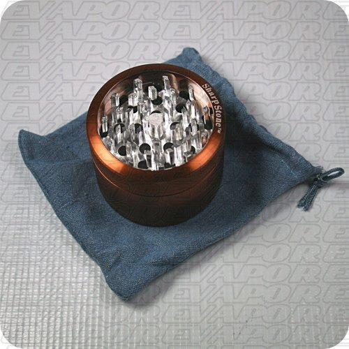 Sharpstone 2.5'' 4 Piece Glass Top Grinder - Brown