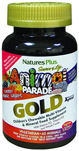 Nature's Plus AP Gold Assorted Chewable Tablets, 60 Count