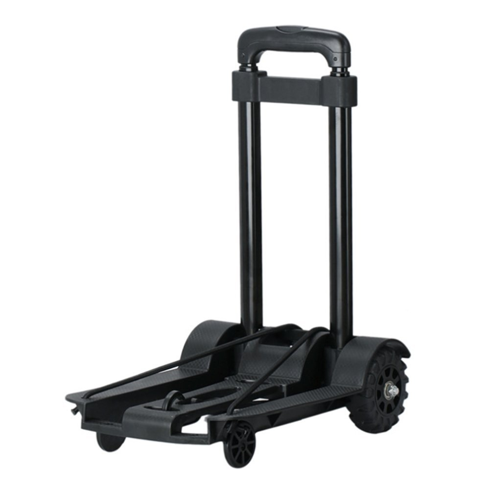 Folding Hand Truck With Strong Load Capacity Hold Up Luggage Shopping Trolley Carts