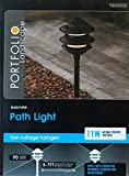 Portfolio 11-Watt Black Low Voltage Halogen Path Light Review