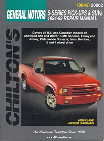 gm s series pick ups and suvs 1994 99 chilton s total car care rh amazon com 2000 Chevy S10 95 Chevy S10