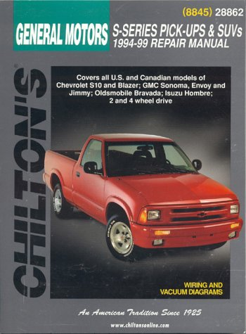 1999 chevy s10 pickup owners manual