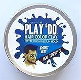 Play 'Do Temporary Hair Color, Hair Wax, Hair Clay, Mens Grooming, Blue hair dye