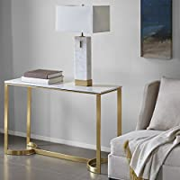 Console Table Marble/Gold/See below