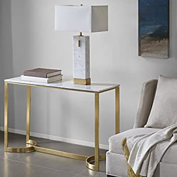 Rockport Console Table Marble/Gold See below