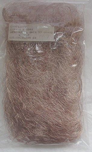 Angel Hair Wire - 1 PACK of 50 GRAMS Fine Wire METALLIC ANGEL HAIR Color DARK BROWN #8 (Looks MED BR to Me)