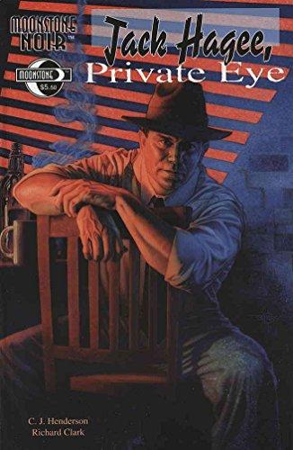 Moonstone Noir: Jack Hagee, Private Eye #1 VF/NM ; Moonstone comic book