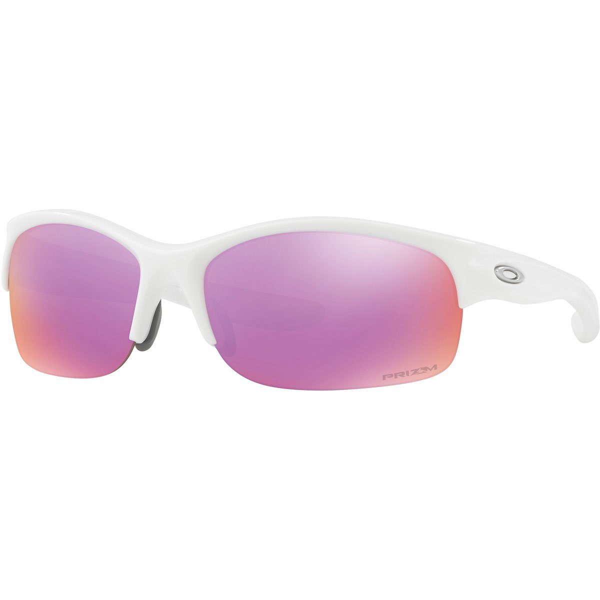 Oakley Women s OO9086 Commit Squared Pillow Sunglasses, Polished White Prizm Golf, 62 mm