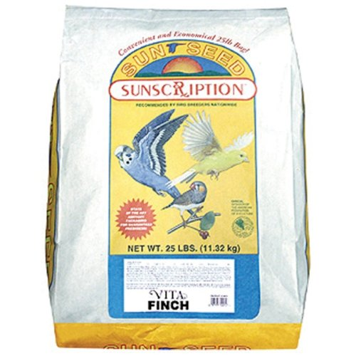 Sun Seed Company Finch Vita-Mix 25lb by Sunseed Sunscription