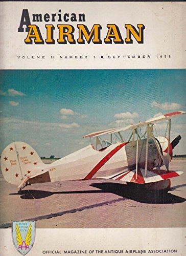 AMERICAN AIRMAN Great Lakes N21E Curtiss Robin OX-5 ++ 9 1958 Ox Mens Air