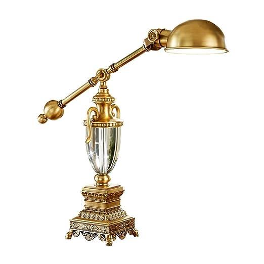 ZWH-Lámparas de Mesa Oficina De Estudio De Estilo Americano ...