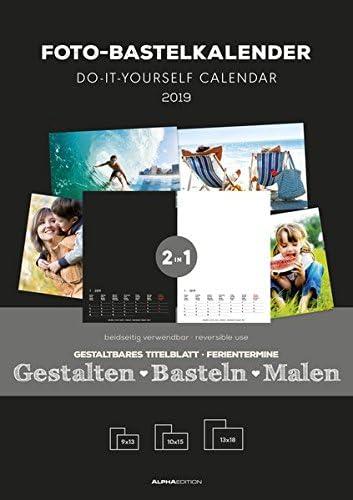 Calendario Da Muro Fai Da Te 2019 21X29,7 Cm