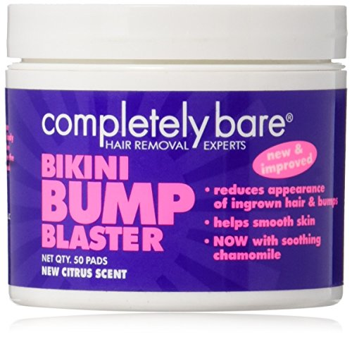 Price comparison product image Bikini Bump Blaster For Ingrown Hairs (50 Pads) By Completely Bare