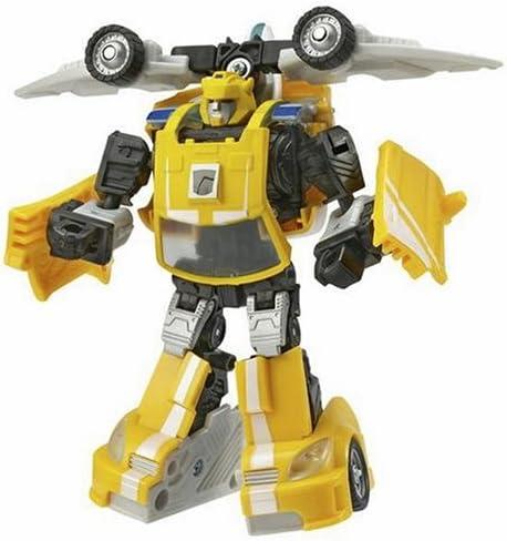 B000EUKRV8 Hasbro Transformers Deluxe Classic Bumblebee Figure 5150S0S9FTL.