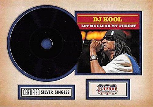 (DJ Kool trading Card (Musician, Rapper) 2015 Panini Americana Certified Silver Singles