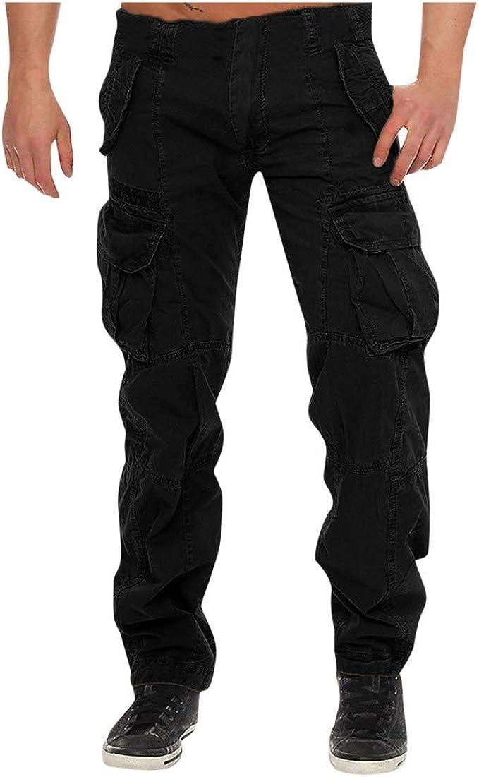 FELZ Pantalones de chándal para Hombre Baggy Bolsillos Pantalones ...