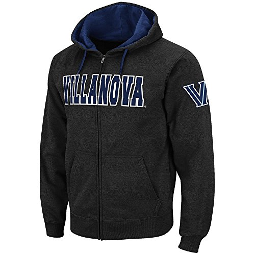 (Colosseum Mens Villanova Wildcats Full Zip Hoodie - 2XL)