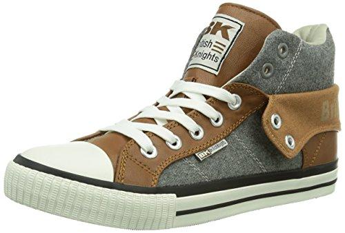 Chevaliers Britanniques Roco Herren Braun De Chaussures Sport Hohe (brun / Gris Lt Grey03)