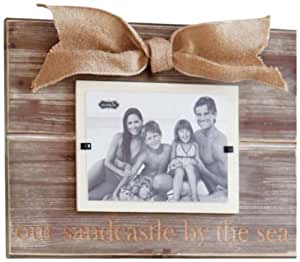 Amazon Com Mud Pie Sandcastle By The Sea Photo Frame