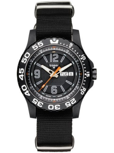 Traser P6600 Extreme Sport Watch on NATO Strap P6600.41F.0S.01 by Traser