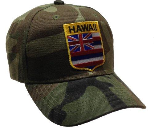 [Hawaii Hat Camo Magnum PI] (Magnum Pi Costume Accessories)