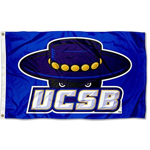 College Flags and Banners Co. UC Santa Barbara Gauchos Blue -