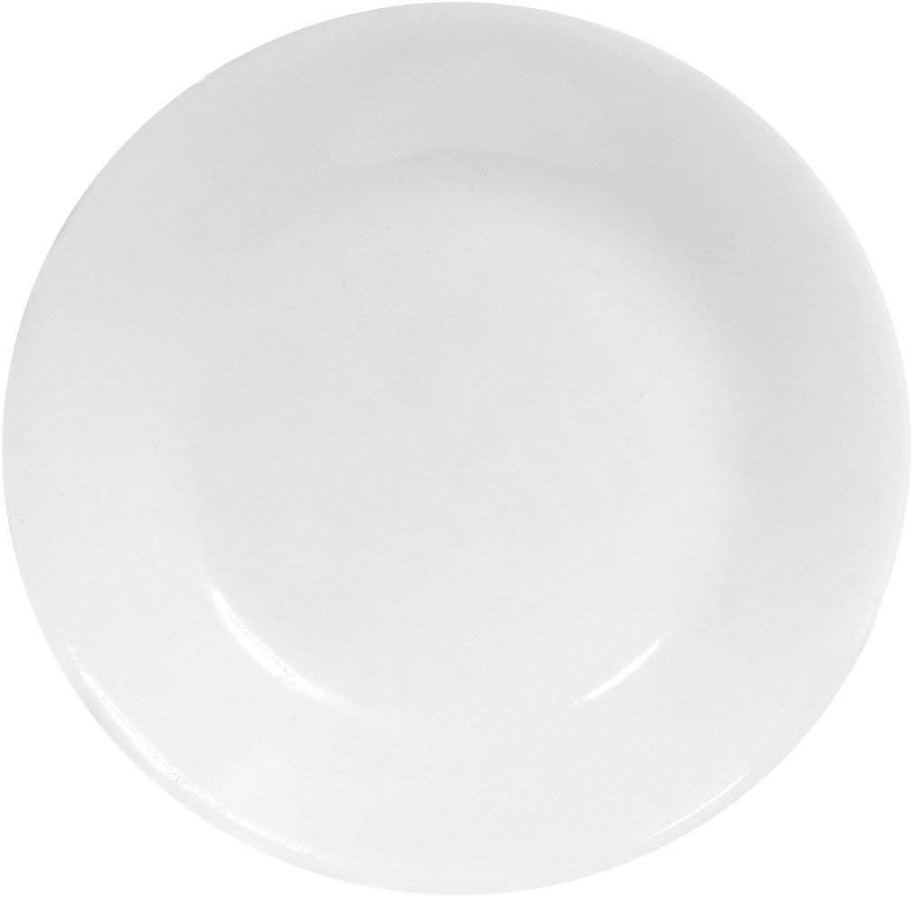 Corelle Round Winter Frost White - Dinner Plate, 6 Pcs Set