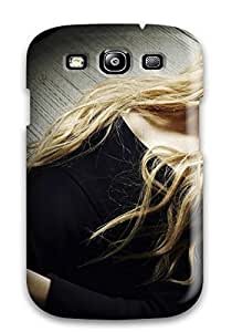 For JessicaBMcrae Galaxy Protective Case, High Quality For Galaxy S3 Hd Avril Lavigne Rock Skin Case Cover