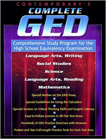 Contemporary's Complete GED: Comprehensive Study Program for the ...