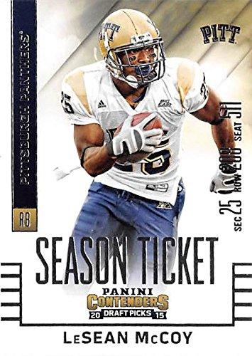 hot sale online 1433b d0565 LeSean McCoy football card (University of Pittsburgh ...