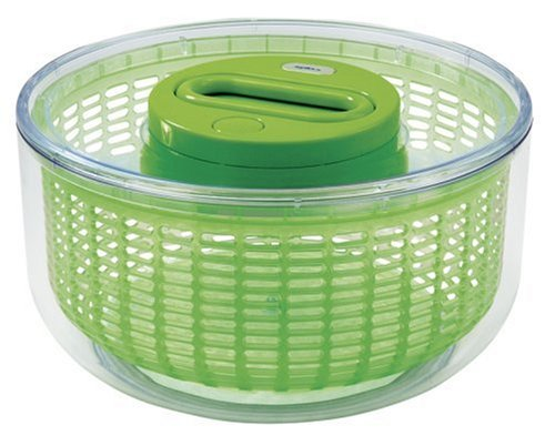 ZYLISS Easy Spin Salad Spinner, Large, ()