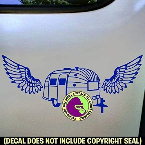 WINGS AIRSTREAM Vinyl Decal Sticker D