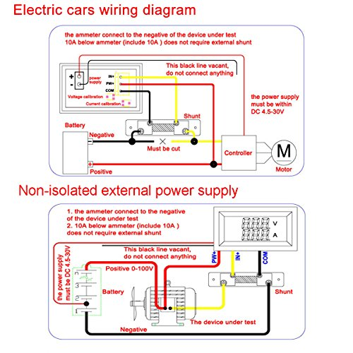 Car Ammeter Wiring Diagram - Wiring Data