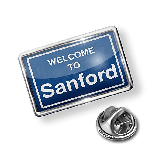 NEONBLOND Pin Sign Welcome to ()