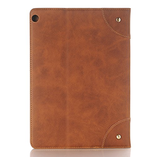 and Function 10 for Ultra 10 Business Wake Case Closure Auto PU Huawei Cover Folding Sleep Lite Slot MediaPad Crocodile Bookstyle Leather Thin Inch of M3 Card Magnetic LMFULM 1 1 Brown Leather Grain Stent YA7xwx