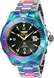 Invicta Mens Pro Diver Automatic Stainless Steel Casual watchMulti Color (Model: 23943)