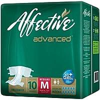 Affective Advanced Pañales para Adulto, Unisex, Talla Mediano, 80 Piezas